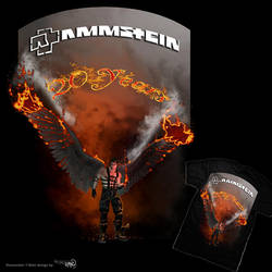 Rammstein 20 yr anniversary competition by DreamingLizard