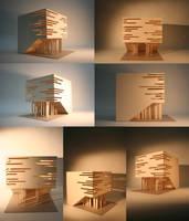Lichtkubus by Hasko