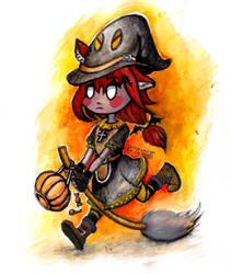 Request: Halloween Veera by Pumpulaatti