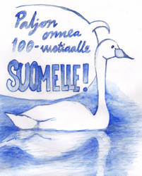 Suomi 100 vuotta by Pumpulaatti