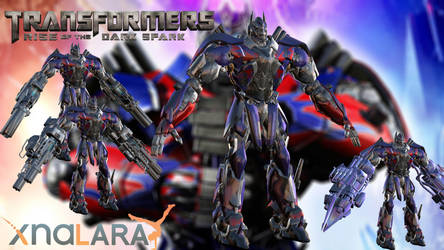 Transformers: Rise of the Dark Spark Optimus Prime by TSelman61