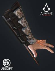 Assassin's Creed - Altair Ibn-La'Ahad Hidden Blade by TSelman61