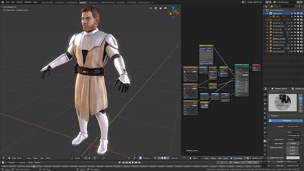 Star Wars: Battlefront II - Obi-Wan Kenobi by TSelman61