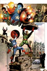 Captain America test by Ivan-NES