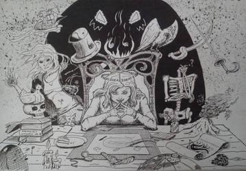 The Mind of a Creator by Rheic-ocean