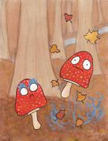 Magic Mushrooms by 0lliebot