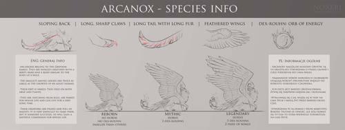 Arcanox - open species - INFO. by Noxeri