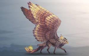 Mythic Arcanox - adoptable (open). by Noxeri