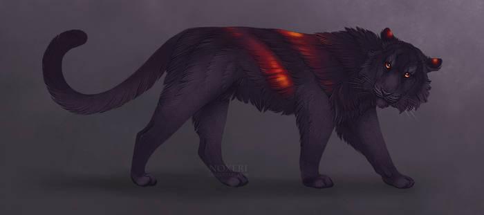 Dark Ash - adoptable (SOLD!) by Noxeri