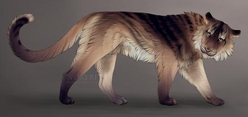 Feline - adoptable auction (closed). by Noxeri