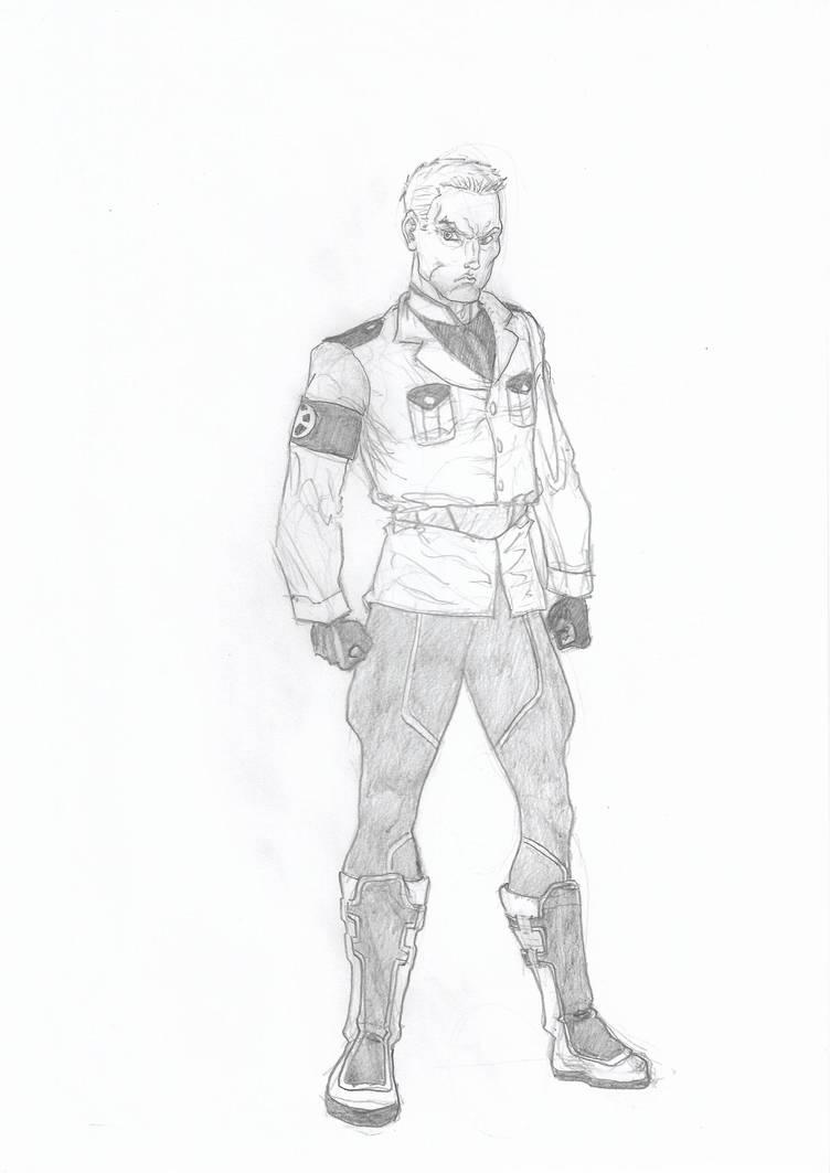 DC Vril Dox by kryptonator