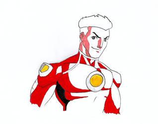 Young Captain Comet: a DC Comics Story by kryptonator