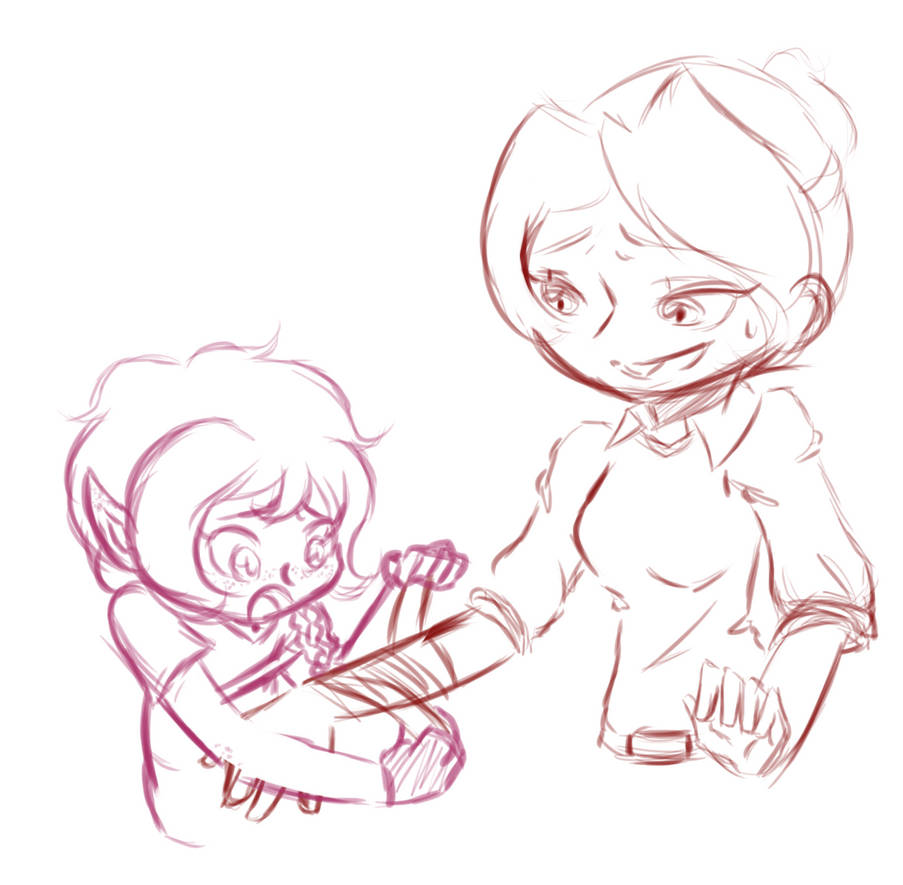 Gimlet Helps Harper by Shadowgirl57