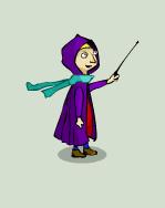 Wizard-girl by Helgiii