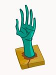 Zombie Hand 2 by Helgiii