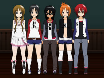 The Megaverse H Crew by MEGAF1SH