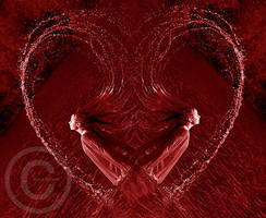 Glowing Heart by ninazdesign