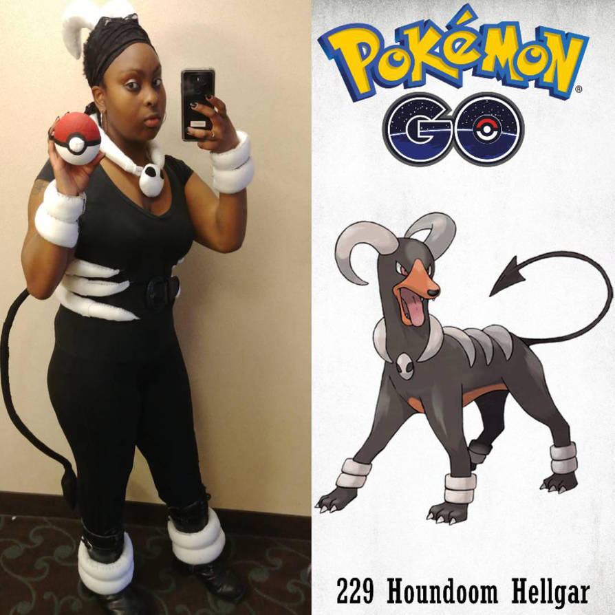 Houndoom gijinka Cosplay by Jade911