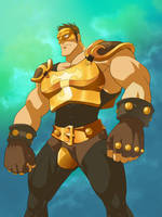 Justice Knight from Wakfu fanart by inmomakuro