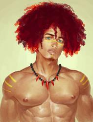 Afro by inmomakuro