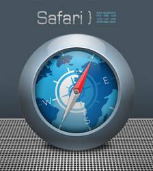 new Safari icon for 2011 by ryandavidjones