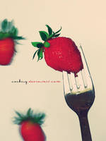 strawberries by Cocking