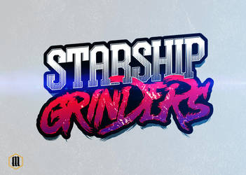 Starship Grinders | BAND LOGO by adiosta