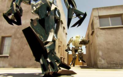 Robots by checkczech