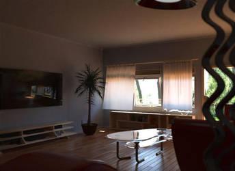 livingroom by checkczech