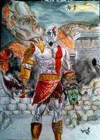 God OF War by DanloS