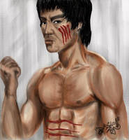 Bruce Lee 'ENTER THE DRAGON' by DanloS