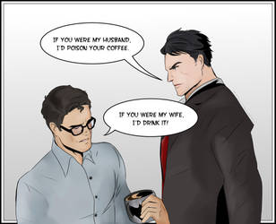 SuperBat Husbands by KatsuyaCrimson