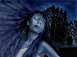 Lady Butterfly Castle by MiDiaN-WoRLD