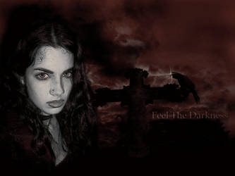 Feel The Darkness ---sepia--- by MiDiaN-WoRLD