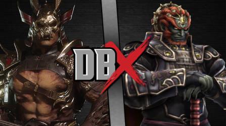 Shao Khan vs. Ganondorf by artistgalaxy