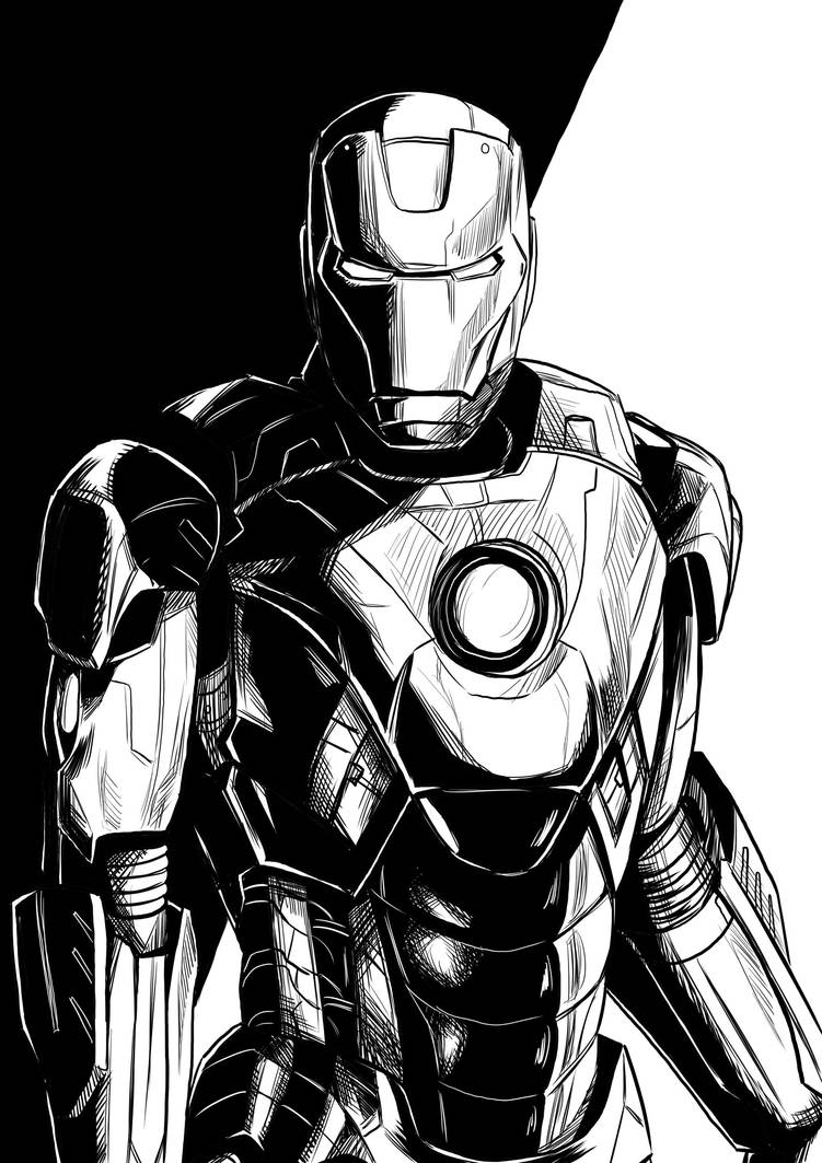 Iron man by sandertulk