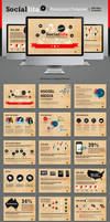 Sociallita Powerpoint Template by kh2838