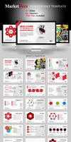 Marketbees PowerPoint Template by kh2838