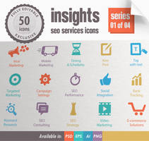 Insights SEO Services Icons - Series 01 of 04 by kh2838