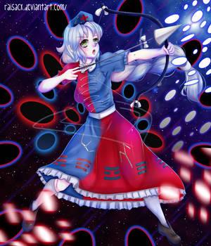 Eirin Yagokoro Fan Art by RaisaCx