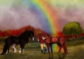 End of the Rainbow by HylianWolfLink
