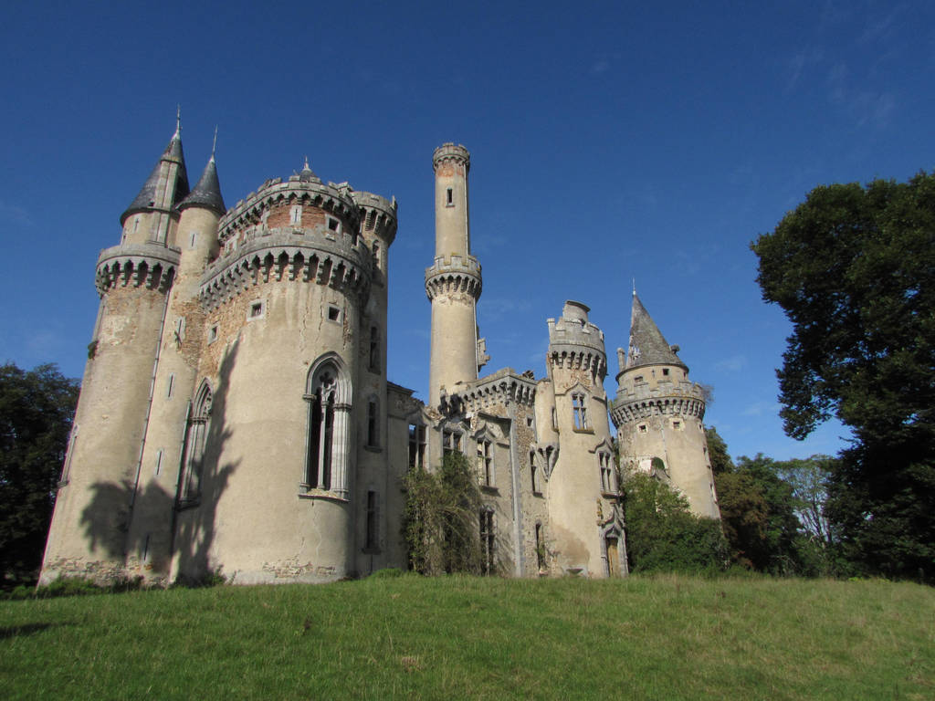Castle V by fairling-stock