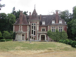 Manoir Normand by fairling-stock