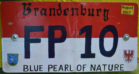 (fantasy) Brandenburg license plate (fantasy) by Easterforest92