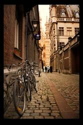 The city of Leuven by thomas-darktrack
