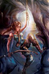 Lara Croft by chriztaychuang