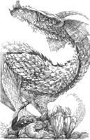 Tiea, Devourer of Bovine by DrewLyons