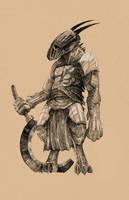 Renju, Draconian Elite by DrewLyons