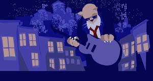 Jazz Cat by DrewLyons