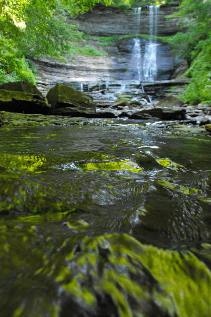 Waterfall by DrewLyons